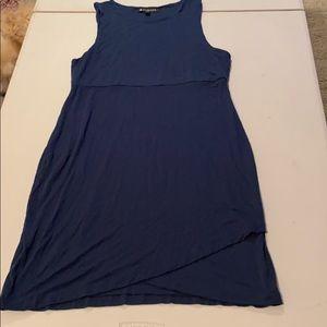 Athleta super soft dark green blue dress size M